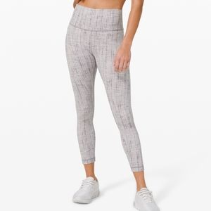 "🆕️ Lululemon Wunder Under HR Tight 25"" Jacquard"